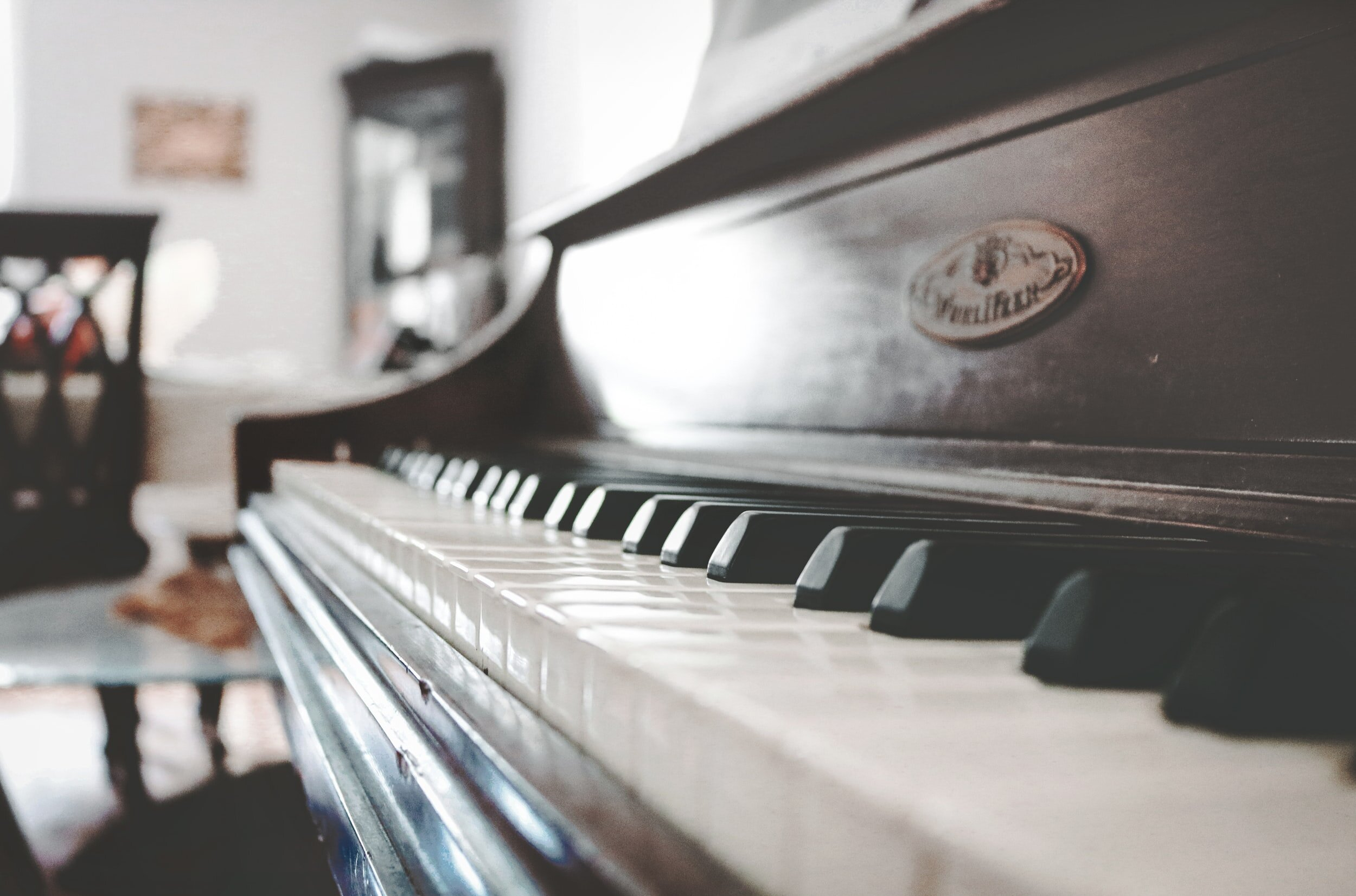 Picture of piano keys