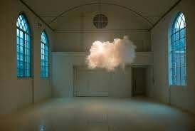 Cloue in empty room