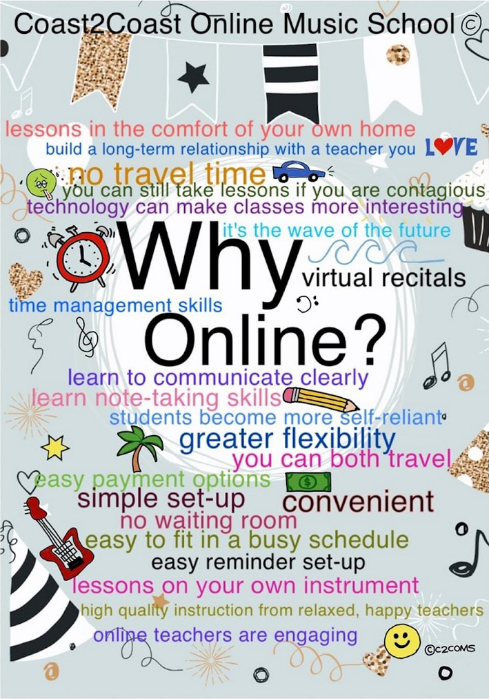 The Benefits of Online Music Lessons